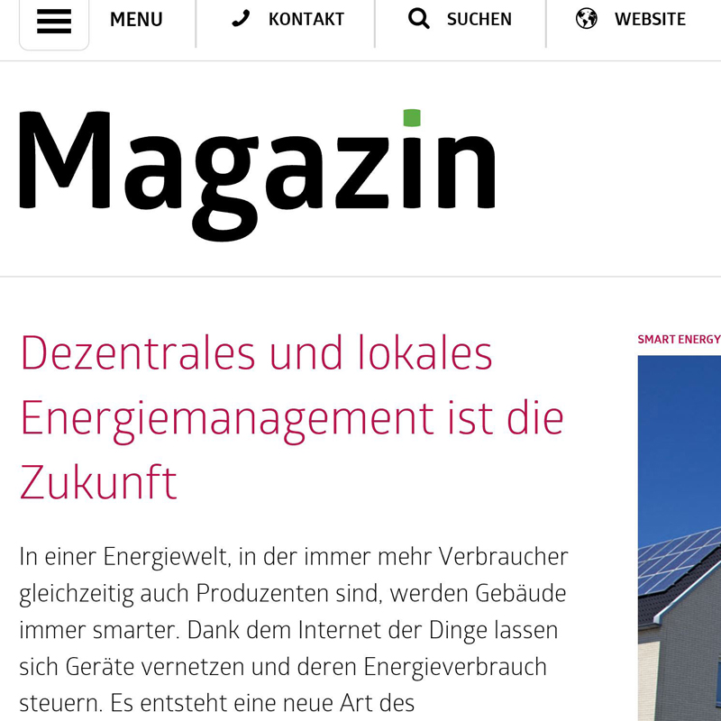 Content Marketing Magazin Web