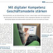 Digitale Kompetenz - ROI